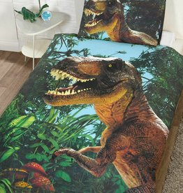 CharactersMania Jurassic Dinosaurus Dekbedovertrek T-Rex