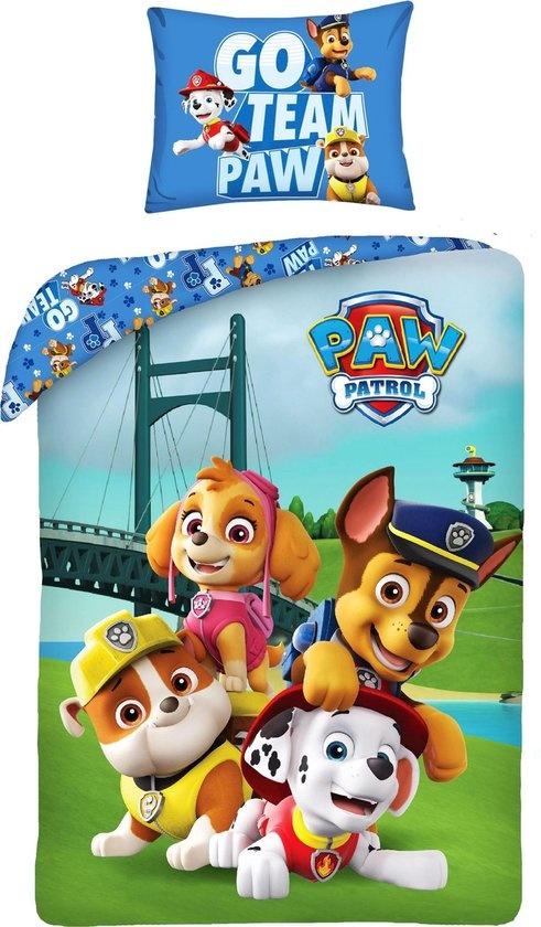 Nickelodeon Paw Patrol  Paw Patrol Dekbedovertrek Go Team Paw