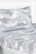 CharactersMania Camouflage Hoeslaken Grijs