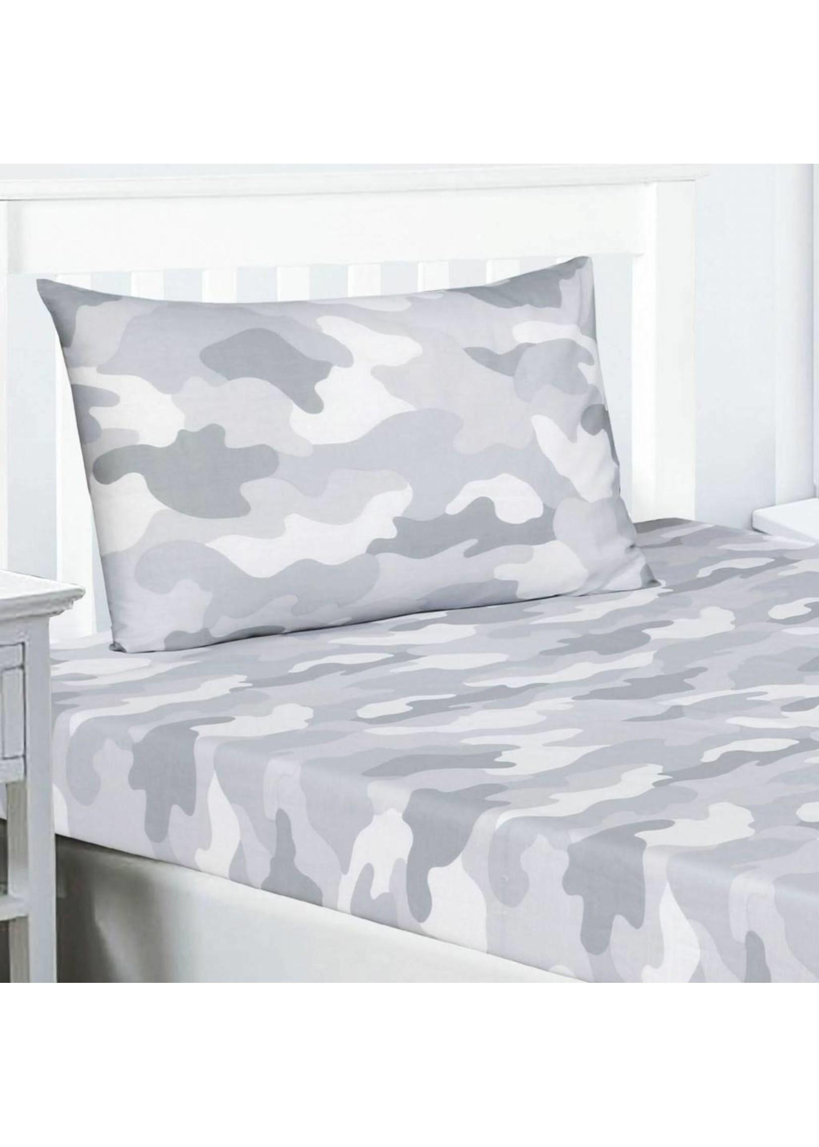 Camouflage Hoeslaken Grijs
