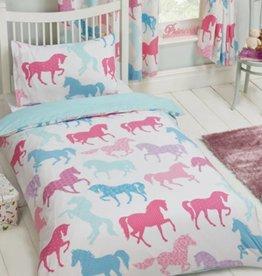 CharactersMania Pony Horses Junior Duvet Cover Set
