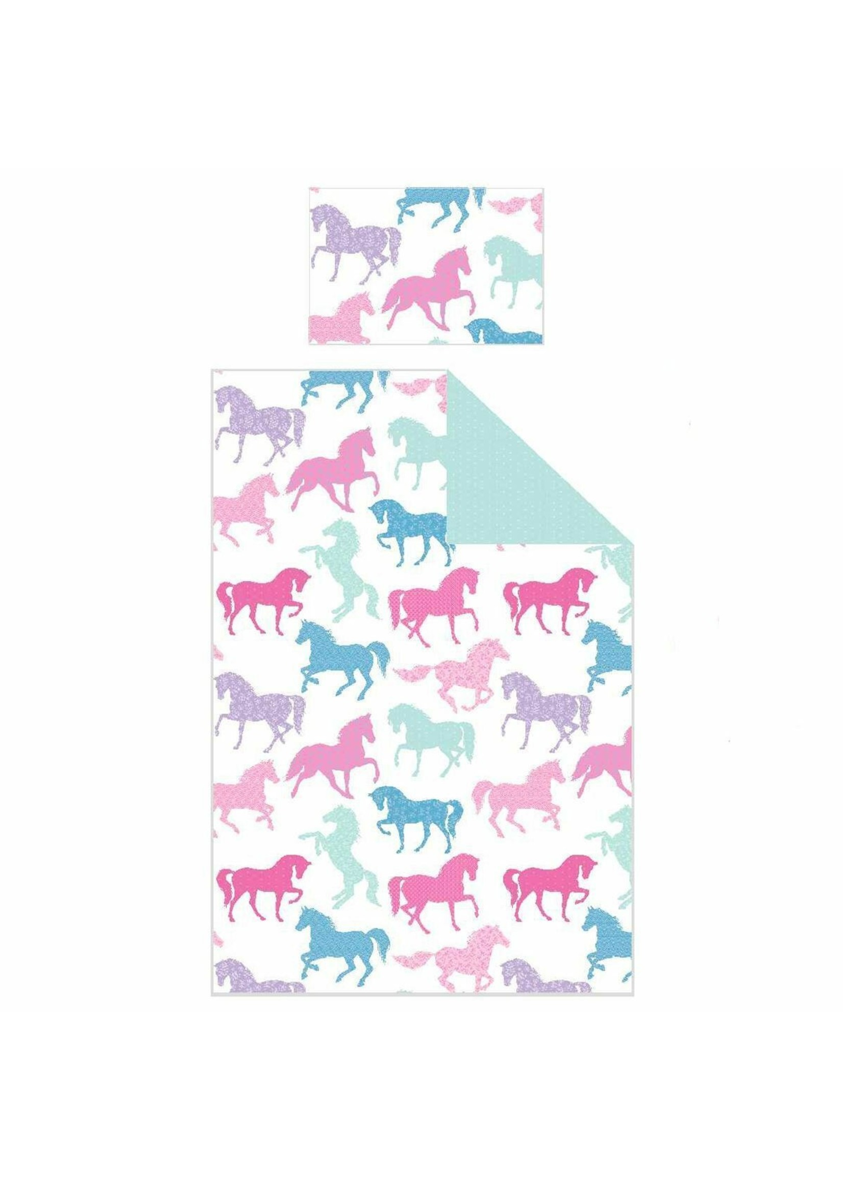 Pony Paarden Junior Dekbedovertrek