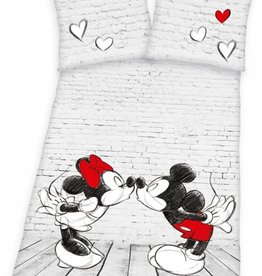 Disney Mickey Minnie Mouse Dekbedovertrek To Kiss