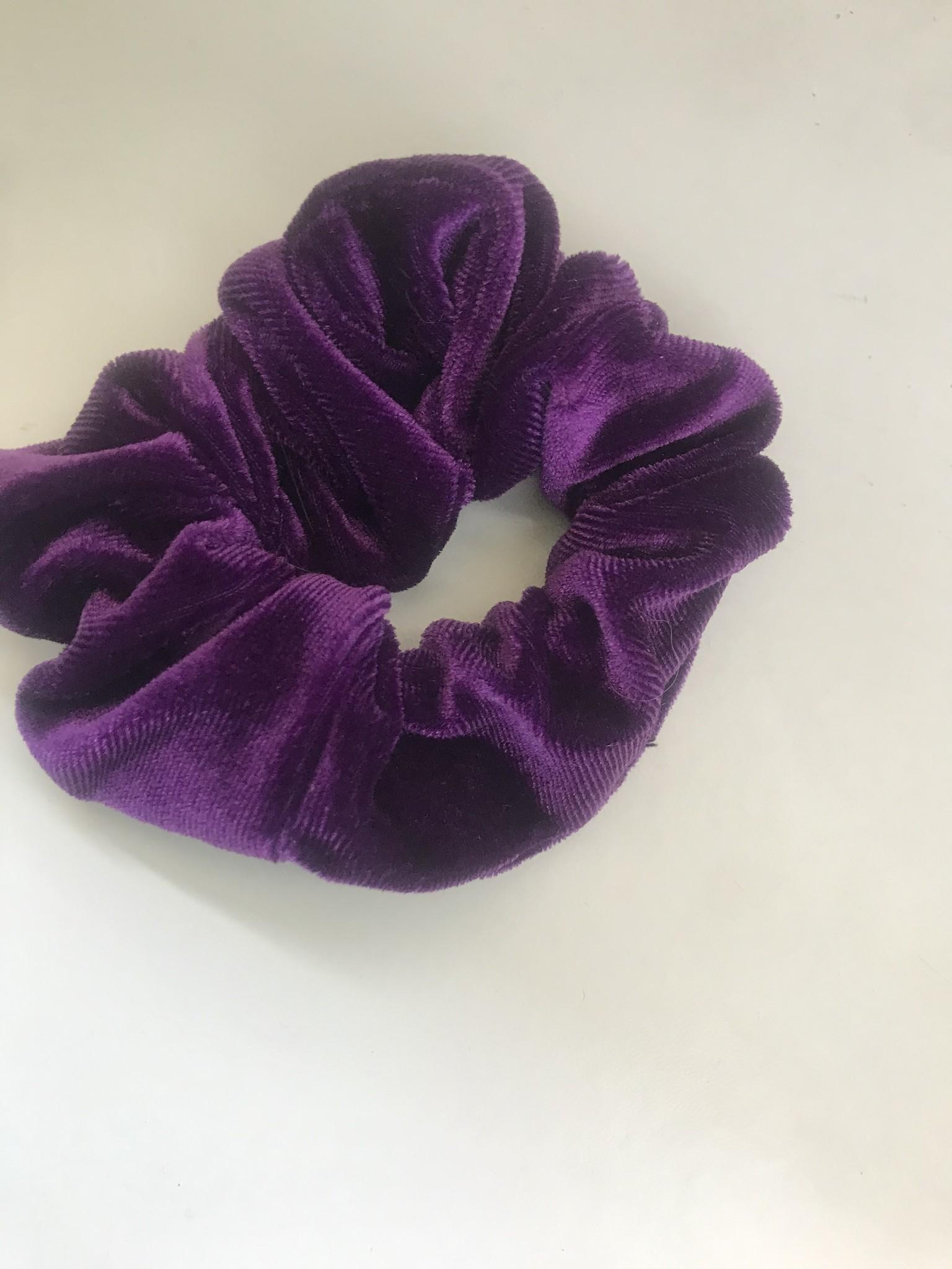 paarse scrunchie