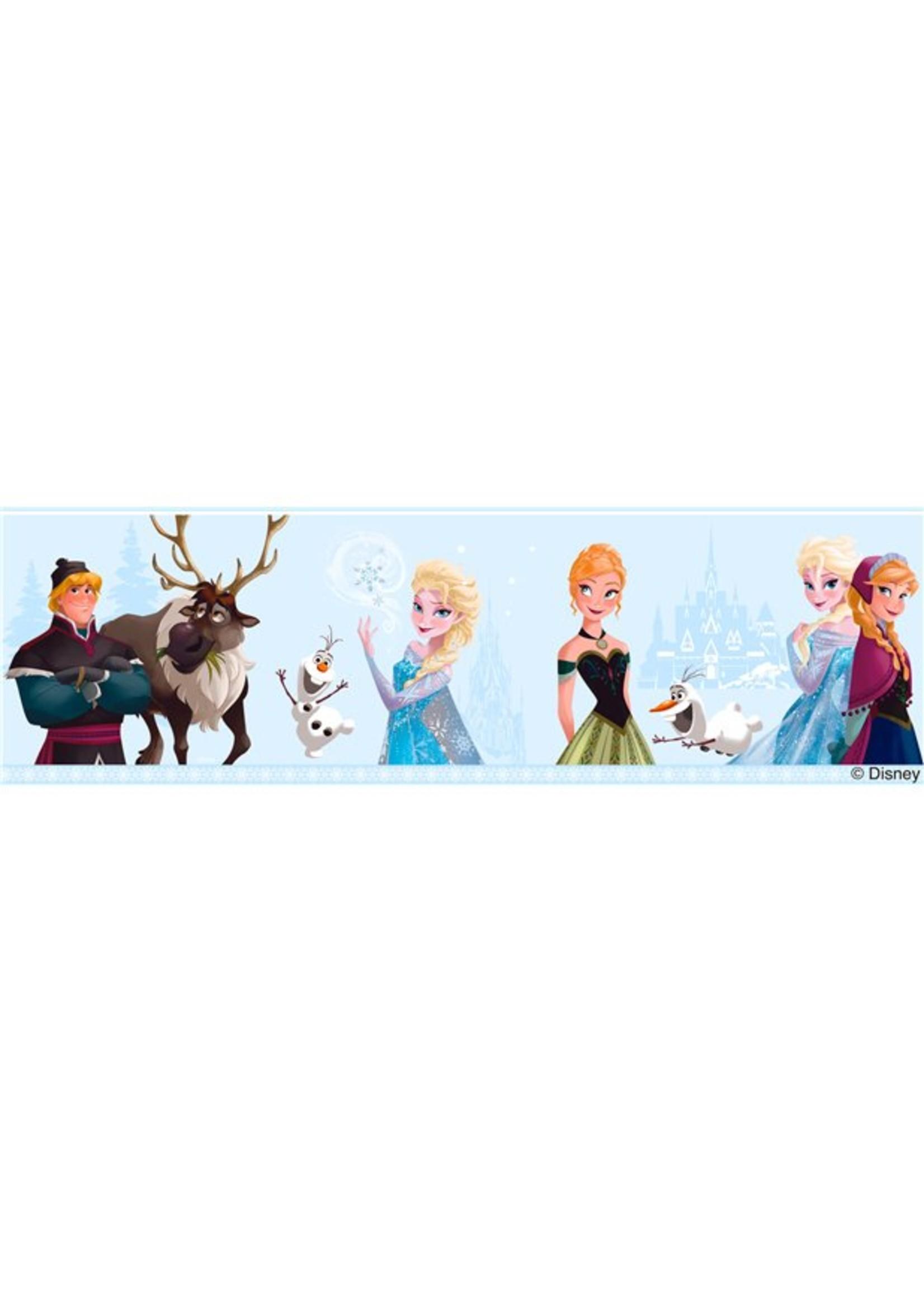 Disney Frozen Frozen Behangrand Blauw