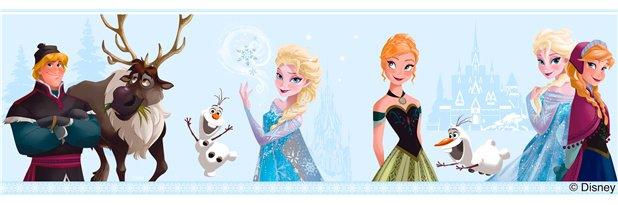 Disney Frozen Frozen Wallpaper Blauw
