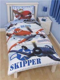 Disney Planes Disney Planes Dekbedovertrek Skipper