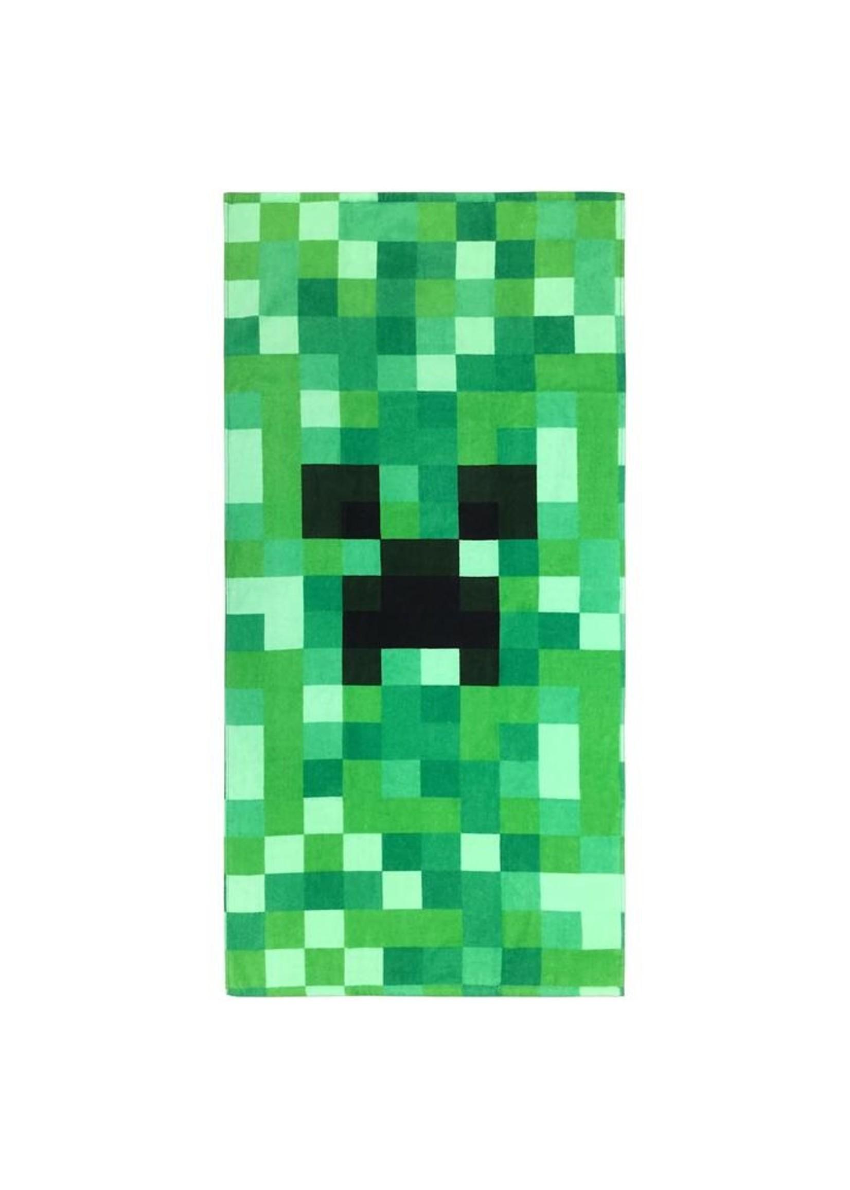 Minecraft Handdoek Badlaken Creeper