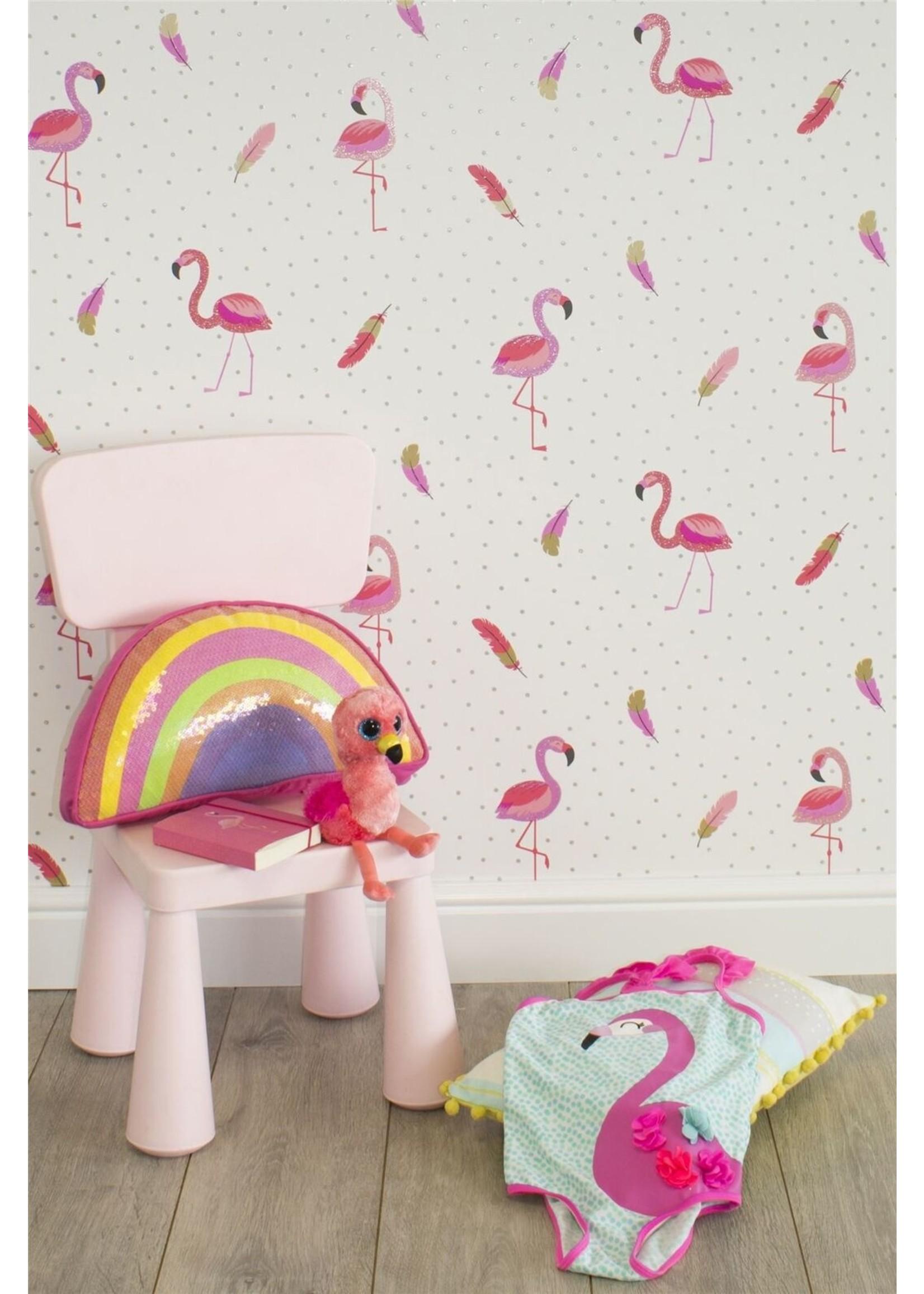Flamingo Behang Be Dazzled