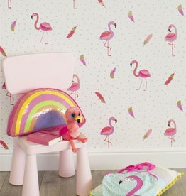 Flamingo Behang Be Dazzled