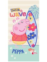 Peppa Pig Peppa Pig Badlaken Handdoek Wave Surf
