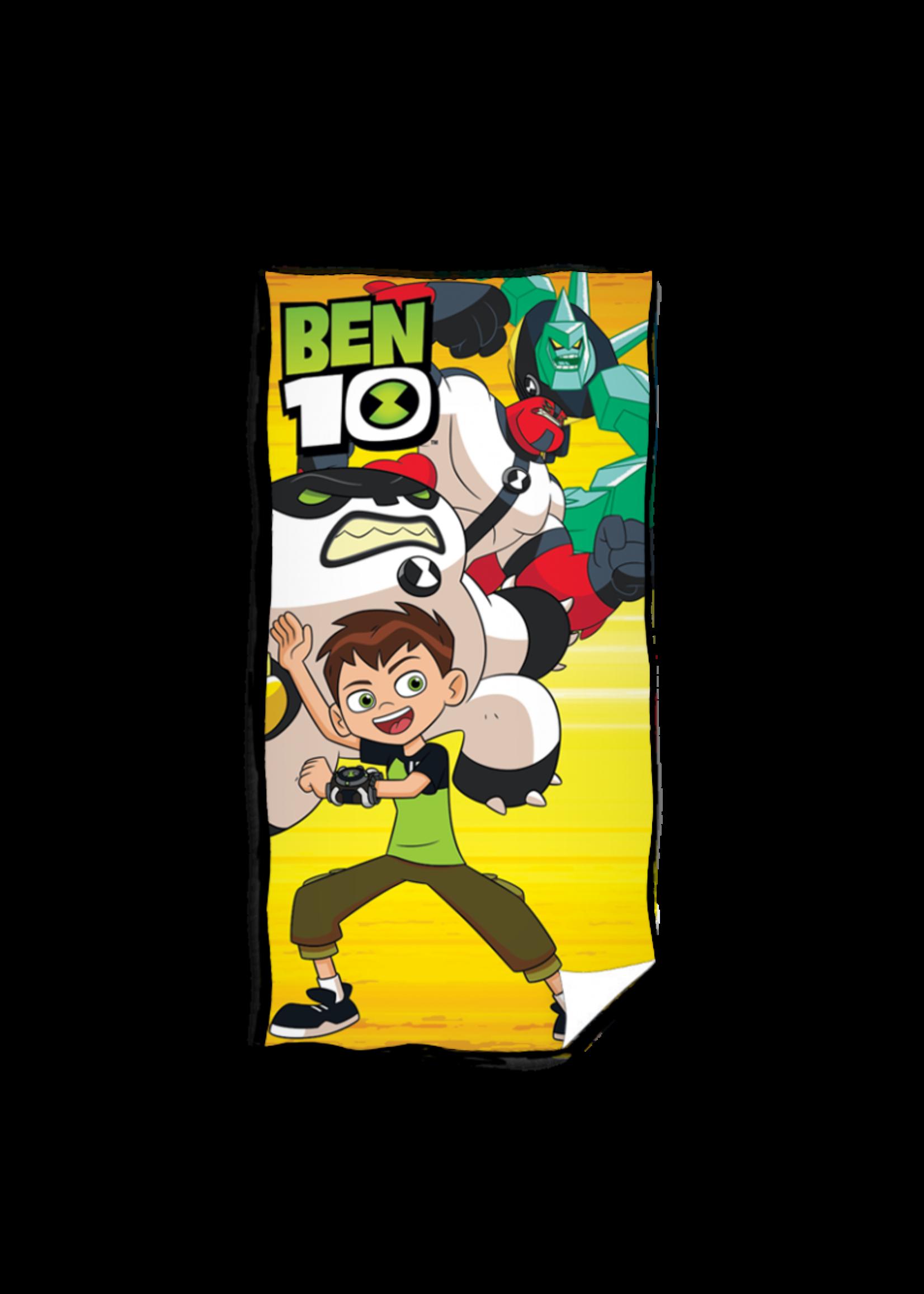 Cartoon Network Ben 10 Badlaken Handdoek Geel