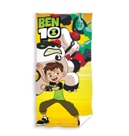 Cartoon Network Ben 10 Badlaken Handdoek Geel