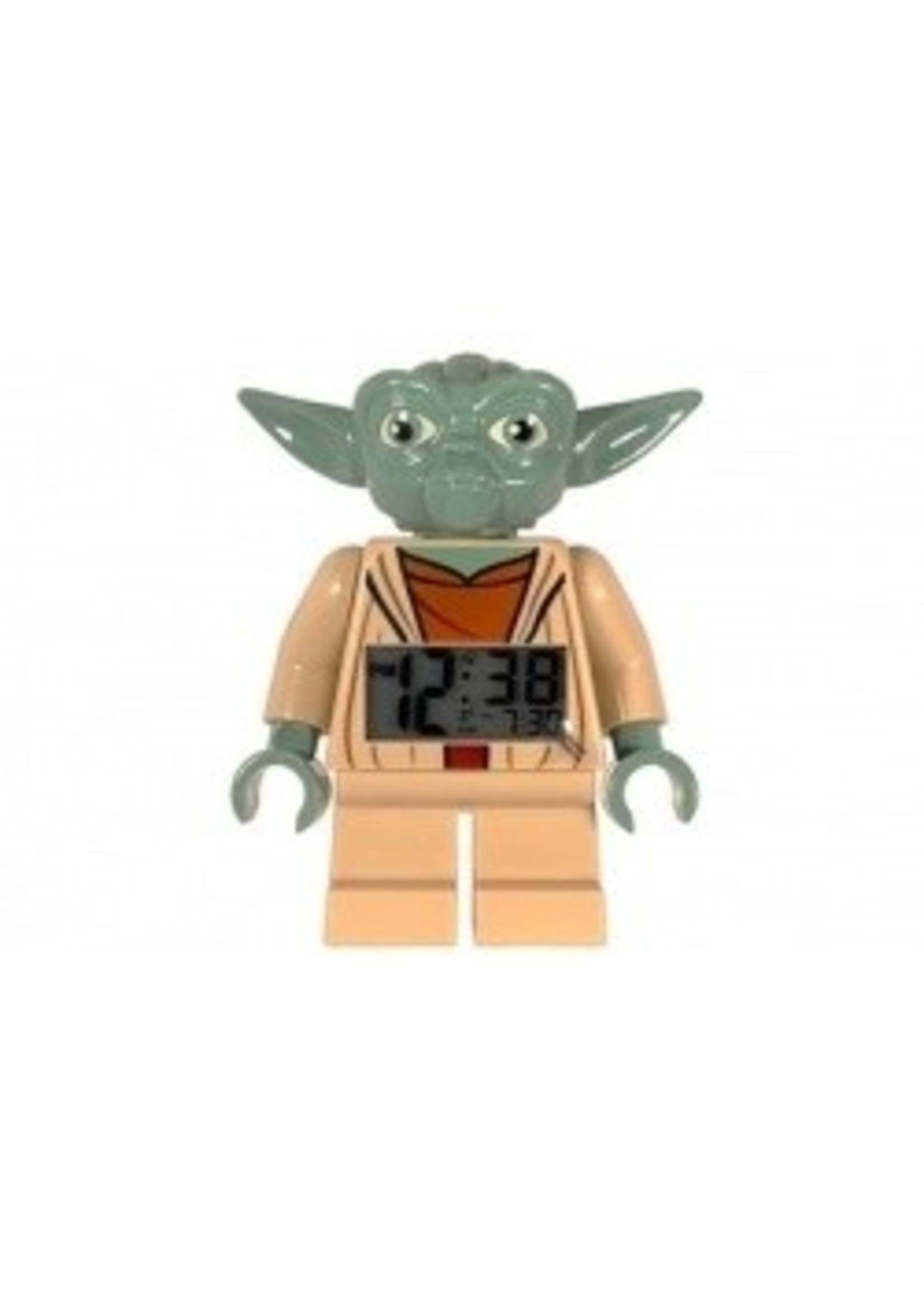 LEGO Star Wars Yoda Klok Wekker LEG-9003080