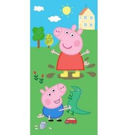 Peppa Pig Badlaken Handdoek George