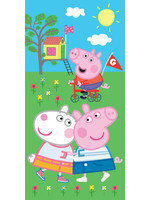 Peppa Pig Peppa Pig Badlaken Handdoek Team