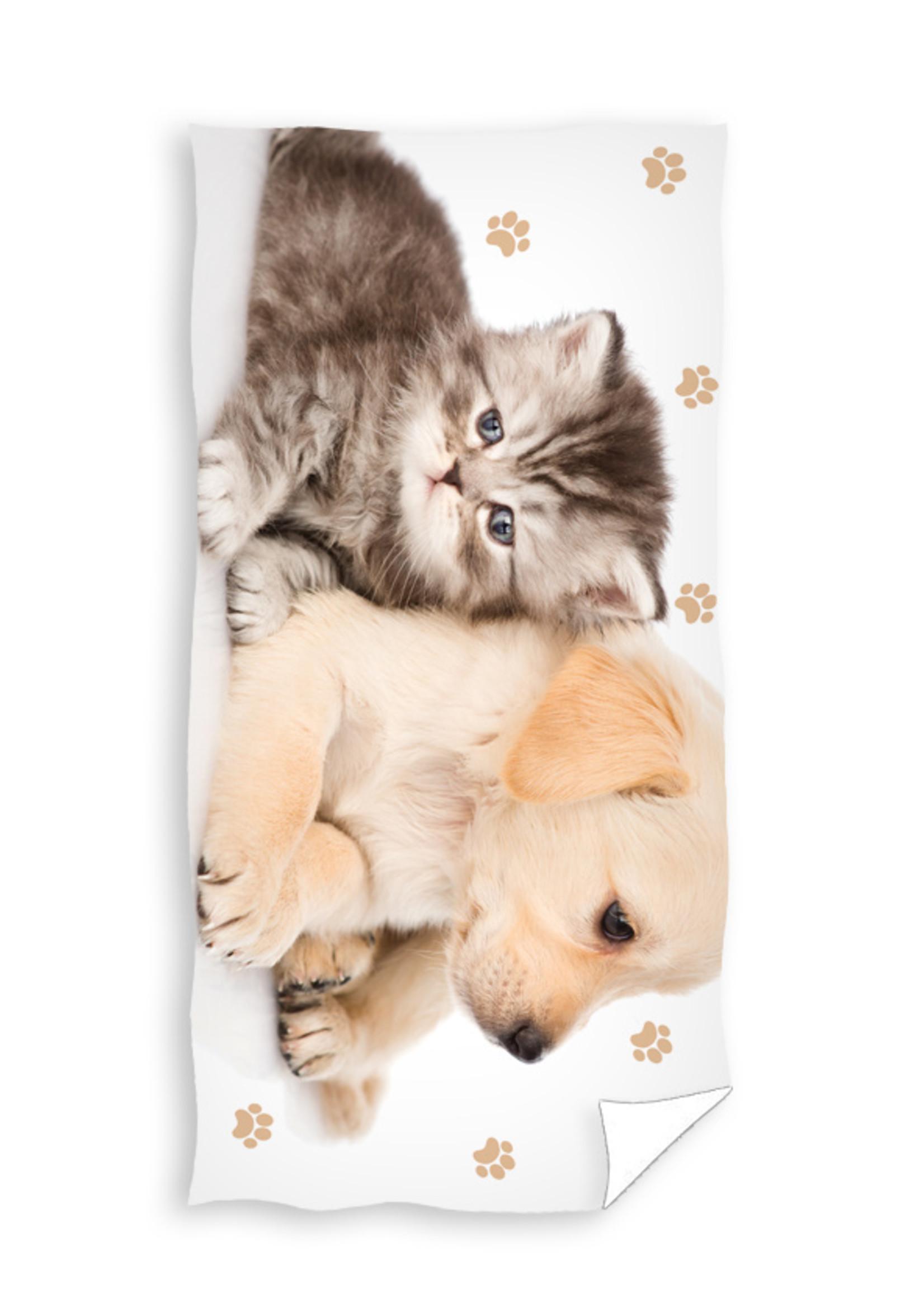 Puppy & Poesje Handdoek Badlaken