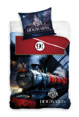 Warner Bros Harry Potter Duvet Cover Set Platform 9 3/4
