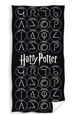 Warner Bros Harry Potter Handdoek Zwart