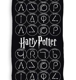 Harry Potter Handdoek Zwart