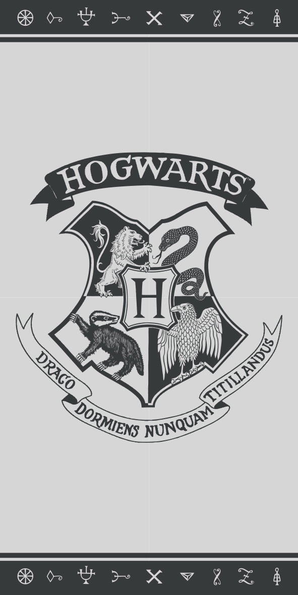 Harry Potter Handdoek Logo