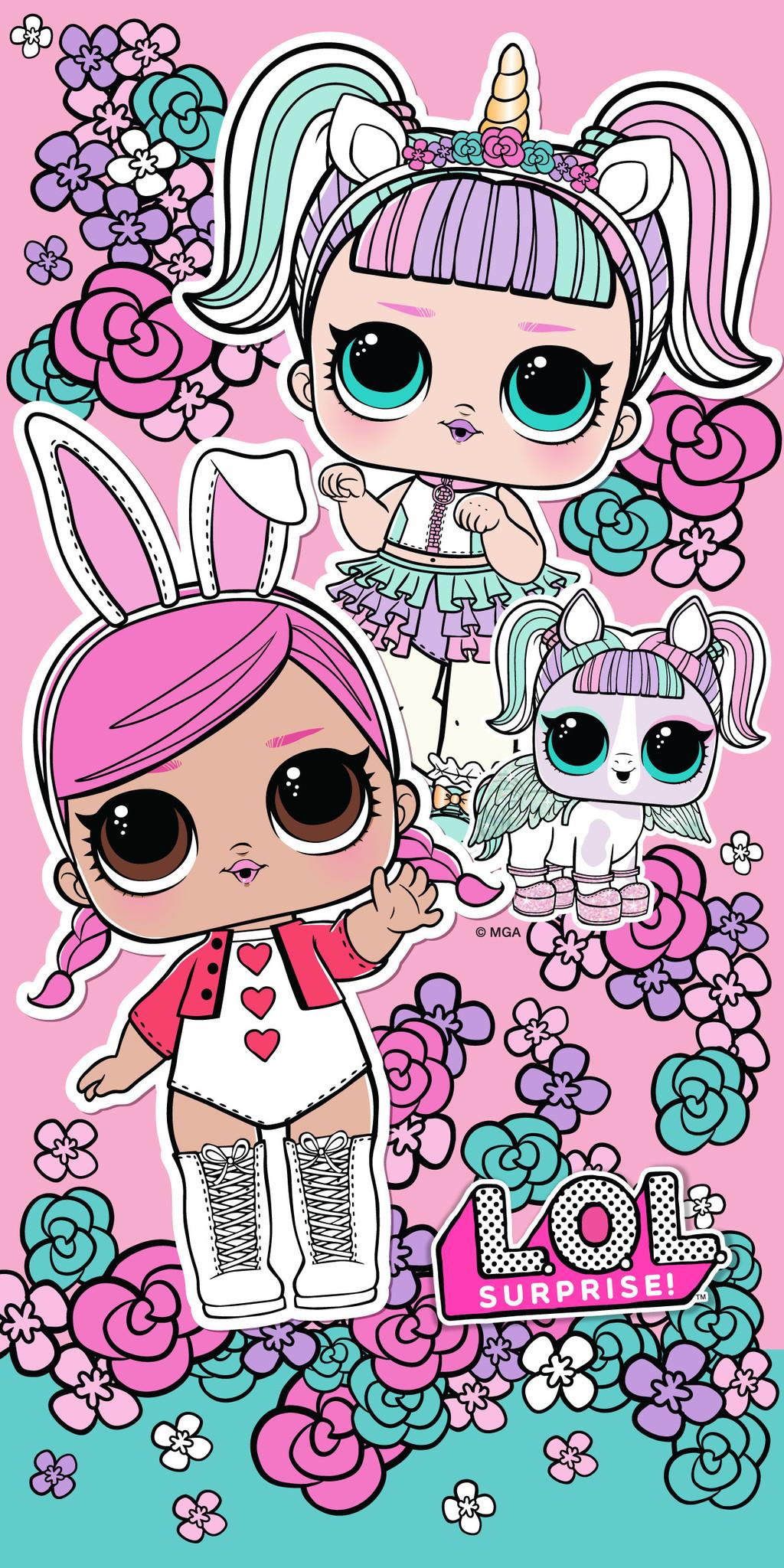 L.O.L. Surprise L.O.L. Surprise Towel Bunny Unicorn