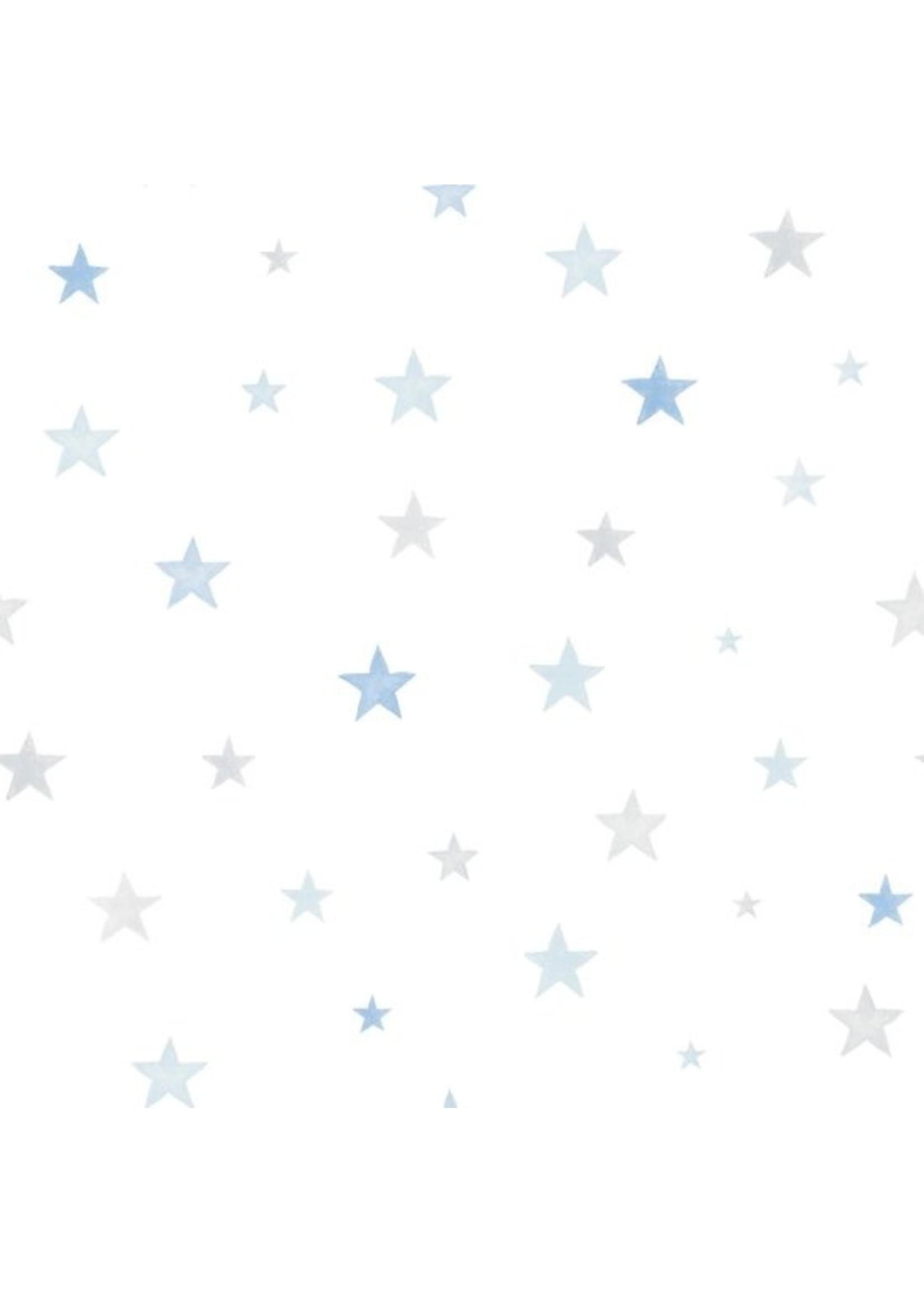 Little Ones Stars blauw/grijs Ster