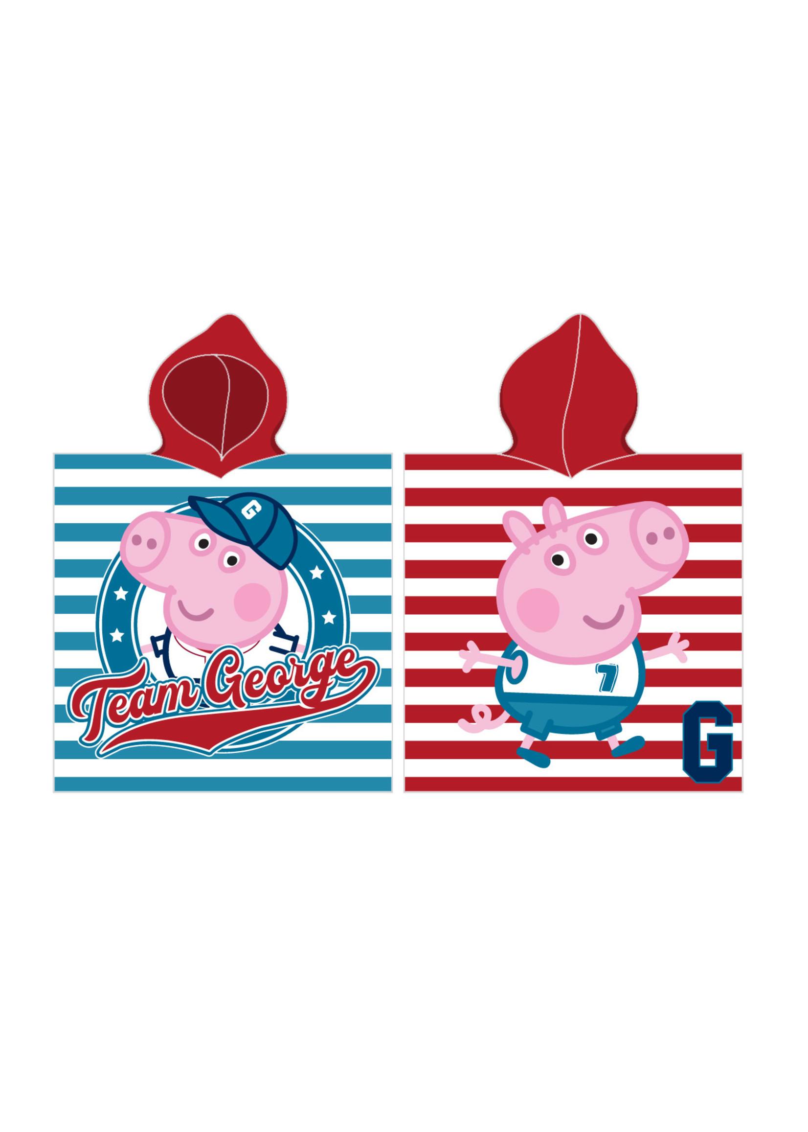 Peppa Pig Peppa Pig Poncho Team George