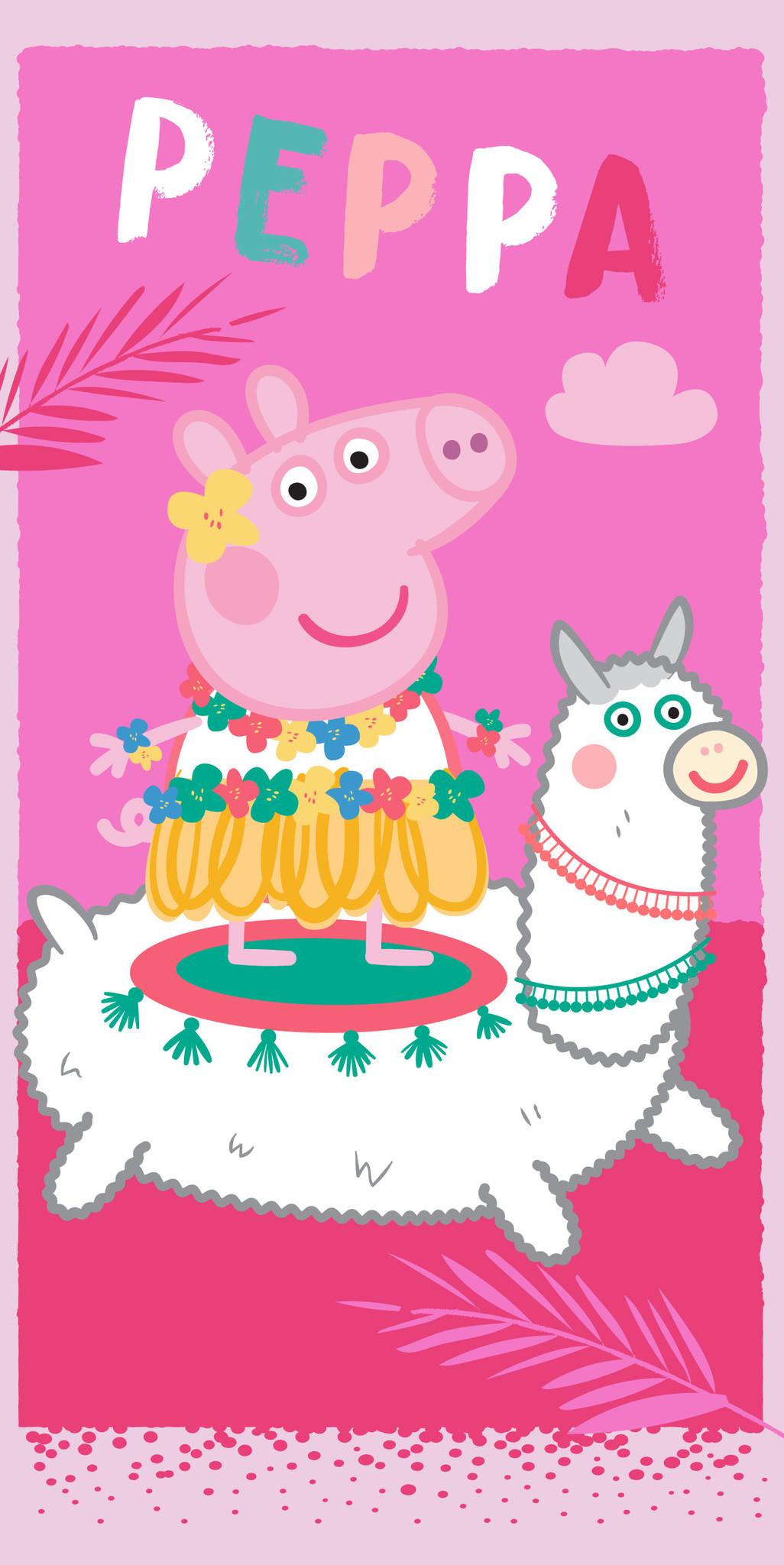 Peppa Pig Peppa Pig Handdoek Lama