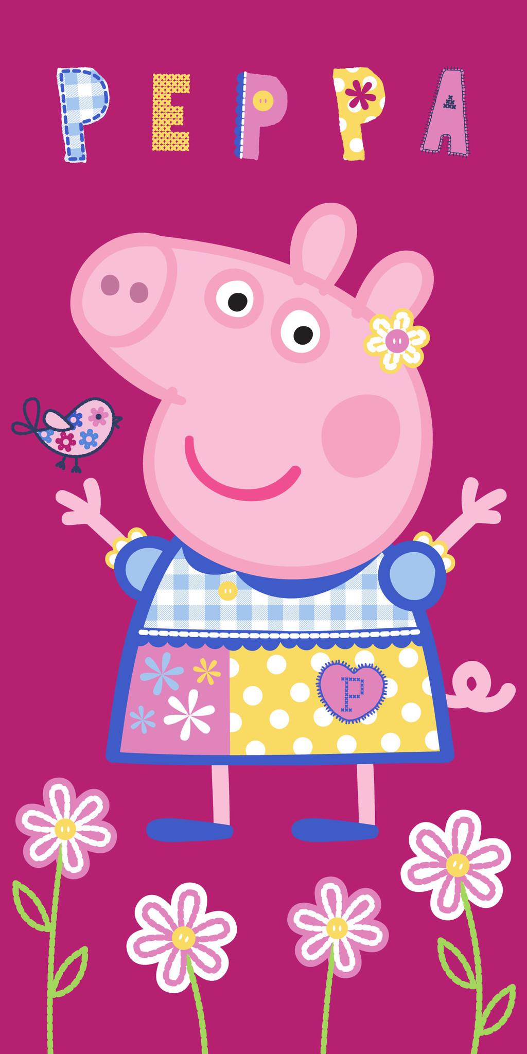 Peppa Pig Peppa Pig Handdoek Pretty