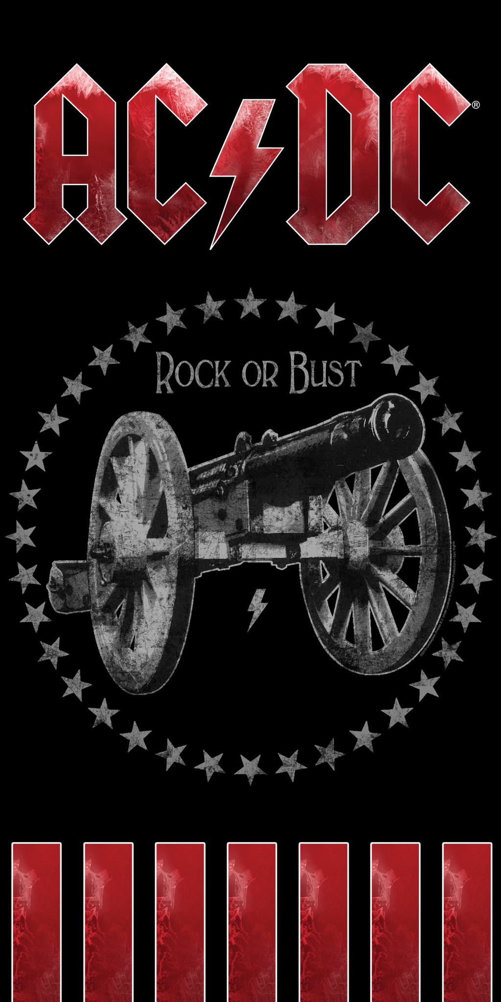 ACDC AC/DC Handdoek Rock or Bust