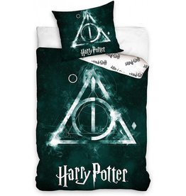 Warner Bros Harry Potter Duvet Cover Set Deathly Hallows