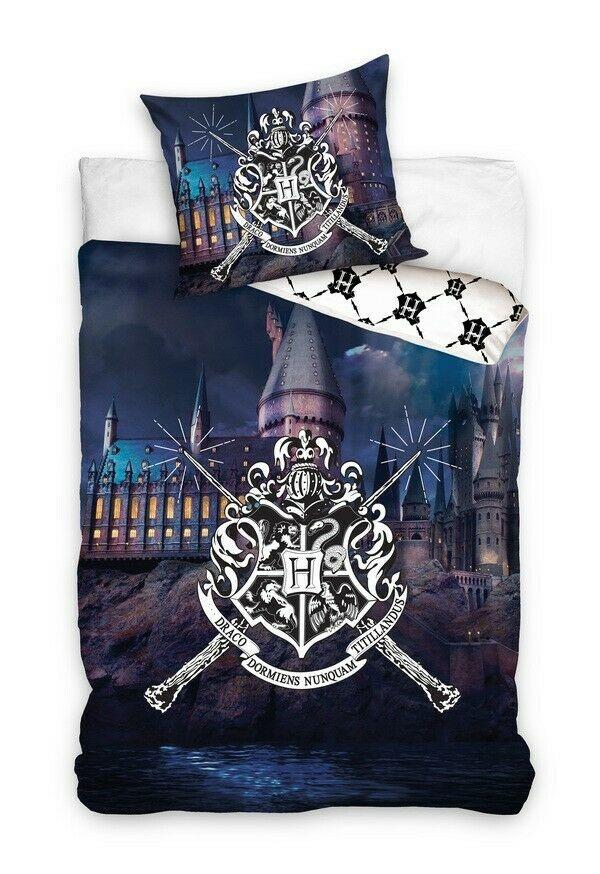 Warner Bros Harry Potter Dekbedovertrek Kasteel