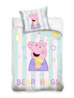 Peppa Pig Peppa Pig Junior Duvet Cover set Bear Hugs