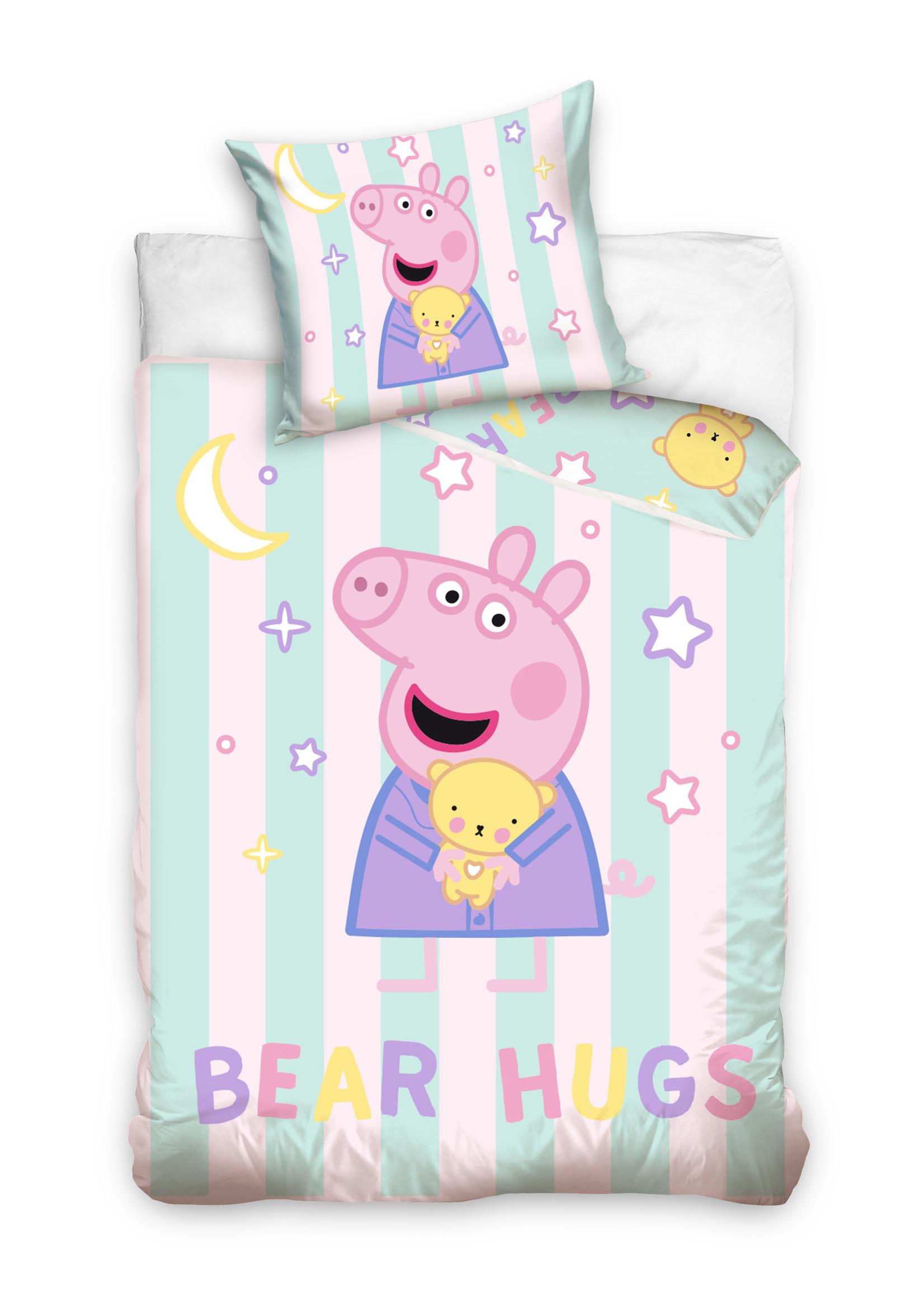Peppa Pig Peppa Pig Junior Dekbedovertrek Bear Hugs