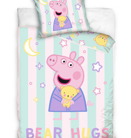 Peppa Pig Peppa Pig Junior Dekbedovertrek Bear Hugs