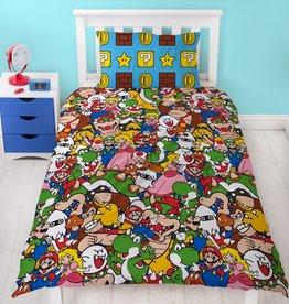 Nintendo Super Mario Duvet Cover Set Gang