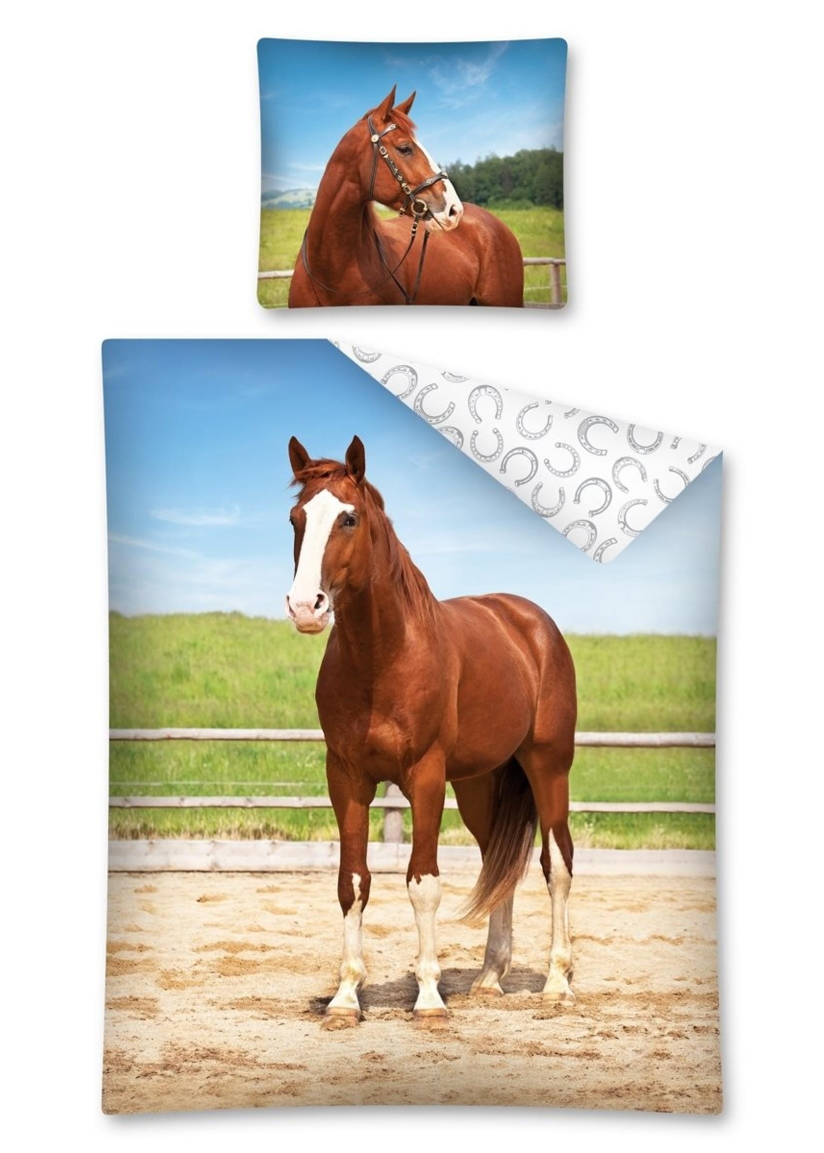 Paard Dekbedovertrek Katoen