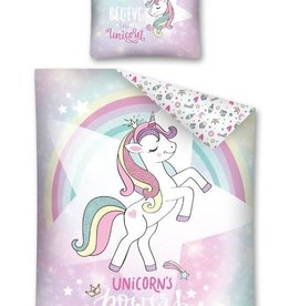 CharactersMania Glitter Unicorn Duvet Covoer SetPowers