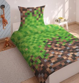CharactersMania Pixel Duvet Cover Set Game
