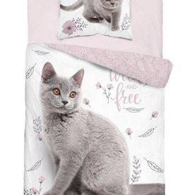 CharactersMania Cat kitten Duvet Cover Set 160x200cm