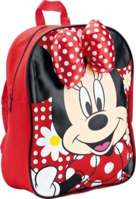 Disney Minnie Mouse Rode Rugtas Strikje