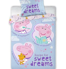 Peppa Pig PPeppa Pig Junior Duvet Set Recipe Dreams