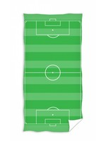 Football Hand Towel Playing Field