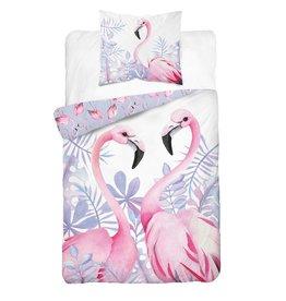 CharactersMania Flamingo Duvet Cover Set
