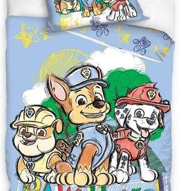 Nickelodeon Paw Patrol  Paw Patrol Junior Dekbedovertrek Blauw