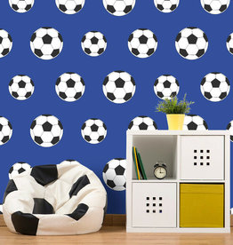 CharactersMania Goal Football Wallpaper Blue Belgravia Decor  - Copy