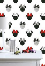 Disney Minnie Mouse Glitter Behang