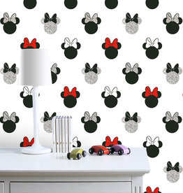 Disney Minnie Mouse Glitter Behang