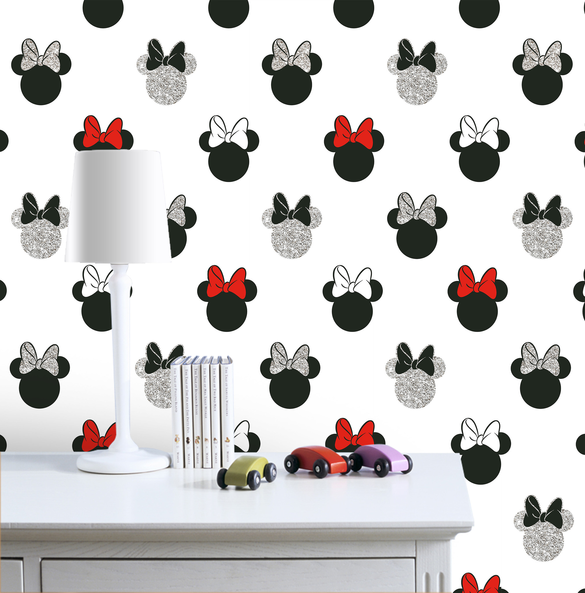 Disney Minnie Mouse Wallpaper with Sparks